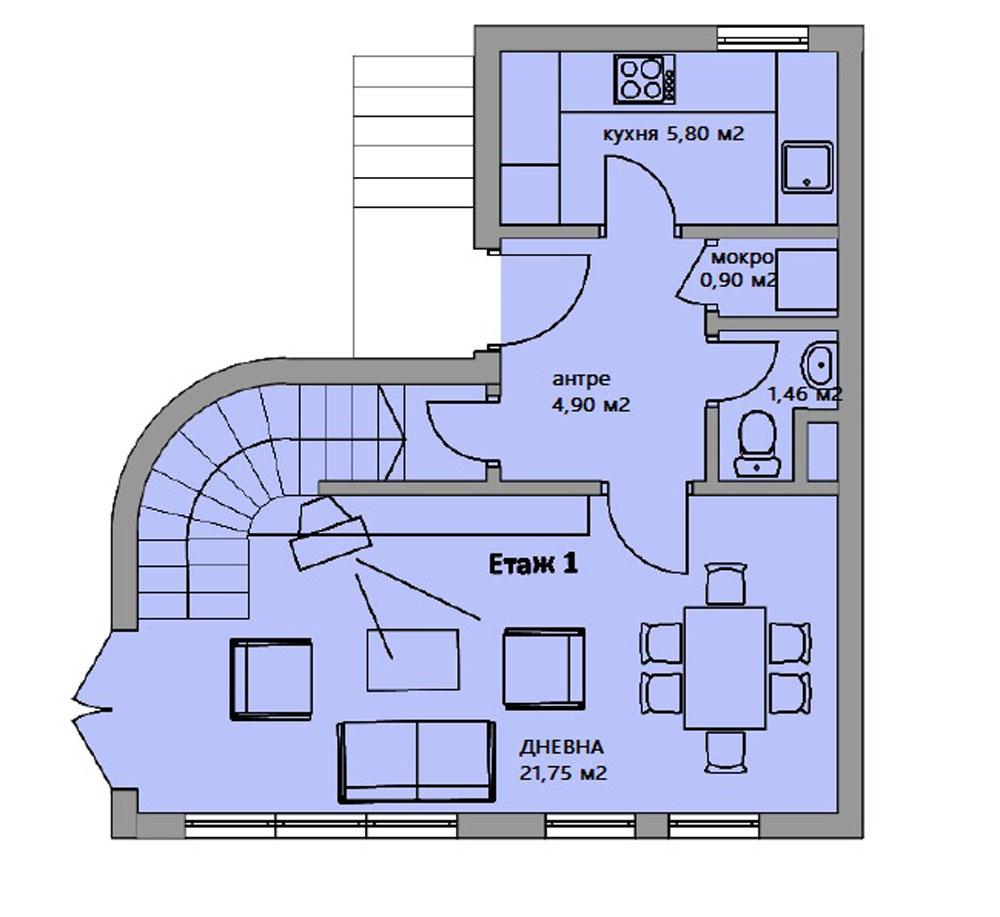 1 етаж